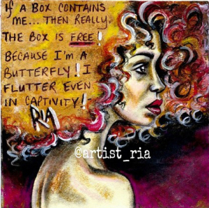 Artist Ria – Can't Put Me in a Box